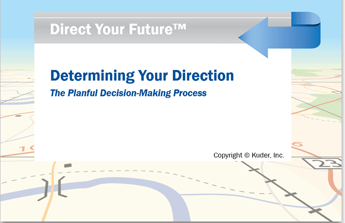 Downloadable PowerPoint Direct Your Future