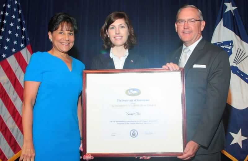 Kuder, Inc. Receives Presidential Award for Exports