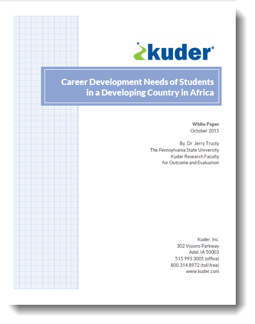 Career Development Needs
