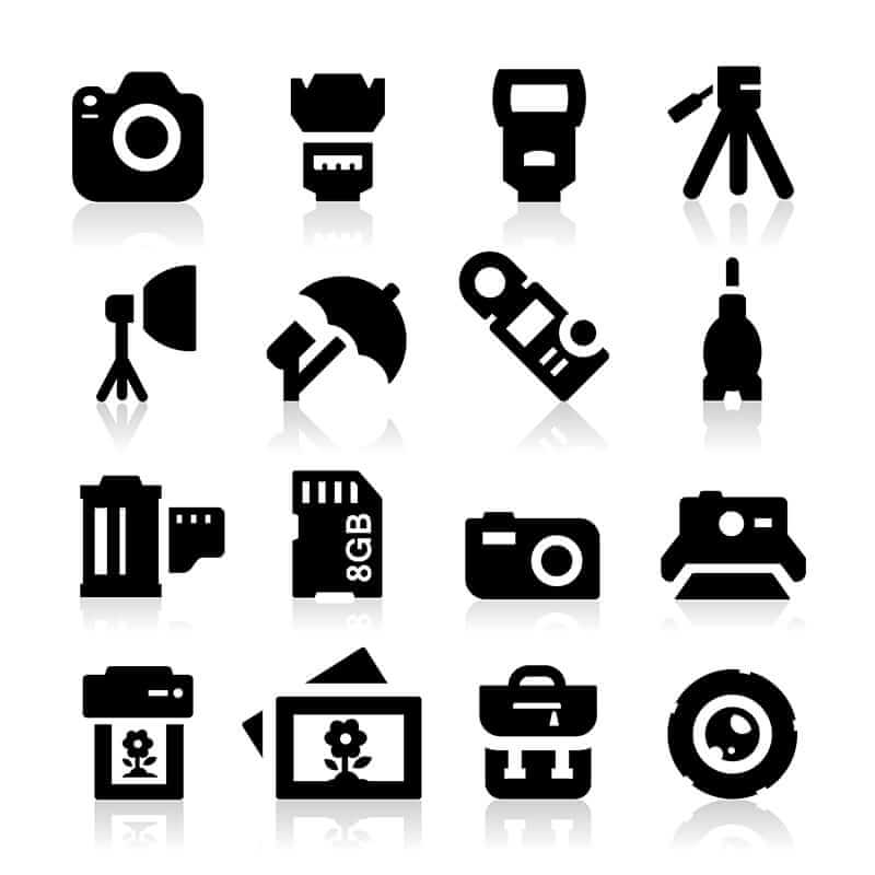 Photography Icons 2